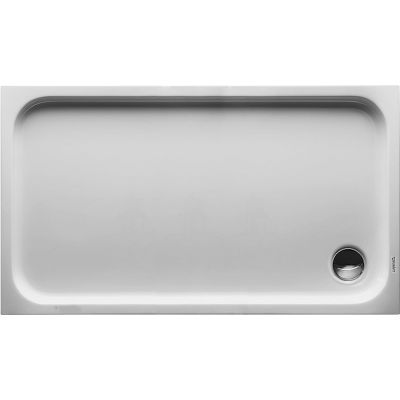 Duravit D-Code brodzik prostokątny 130x75 cm biały 720098000000000