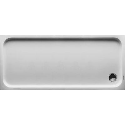 Duravit D-Code brodzik prostokątny 170x75 cm Antislip biały 720100000000001