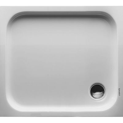 Duravit D-Code brodzik prostokątny 90x80 cm Antislip biały 720105000000001