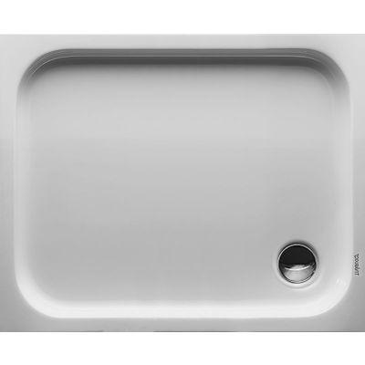 Duravit D-Code brodzik prostokątny 100x80 cm Antislip biały 720106000000001
