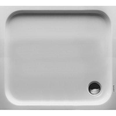 Duravit D-Code brodzik prostokątny 90x75 cm Antislip biały 720104000000001