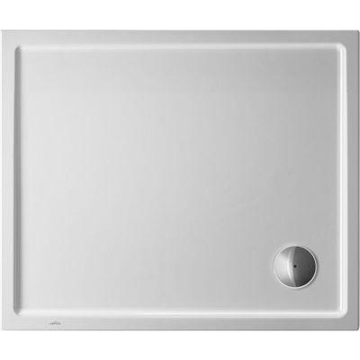 Duravit Starck Slimline brodzik prostokątny 90x80 cm Antislip biały 720118000000001