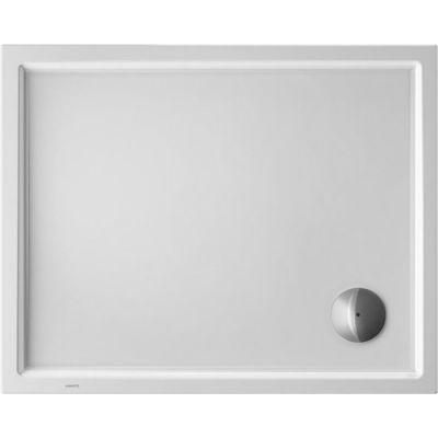 Duravit Starck Slimline brodzik prostokątny 100x80 cm Antislip biały 720119000000001