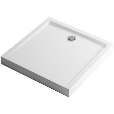 Excellent Forma Compact brodzik kwadratowy 80 cm biały BREX.FOR08WHC