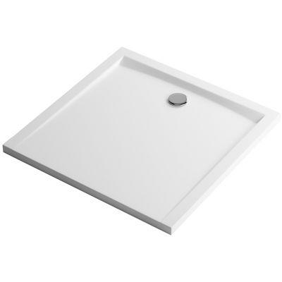 Excellent Forma brodzik kwadratowy 80 cm biały BREX.FOR08WHN