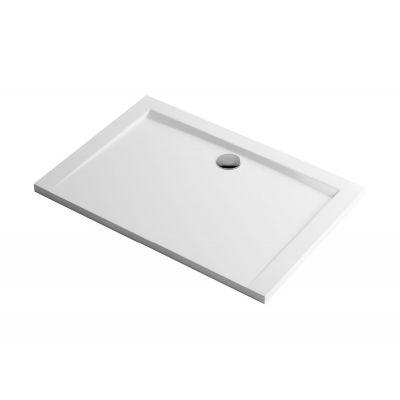 Excellent Forma brodzik prostokątny 80x120 cm biały BREX.FOR128WHN