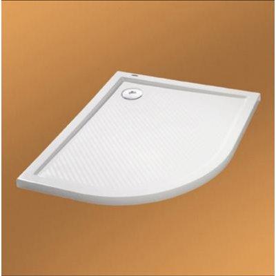 Hüppe Purano brodzik półokrągły 80 cm 202150.055