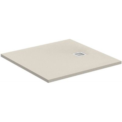 Ideal Standard Ultra Flat S brodzik kwadratowy 90 cm piaskowy beż K8215FT