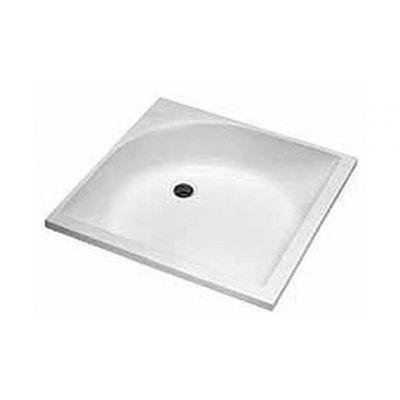 Koło Głęboki brodzik kwadratowy 80 cm biały XBK0380000