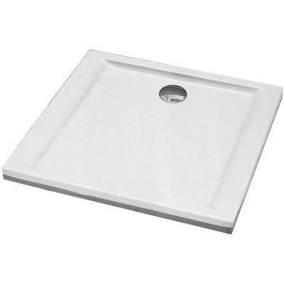 Koło Pacyfik brodzik 80 cm kwadratowy biały XBK0780000