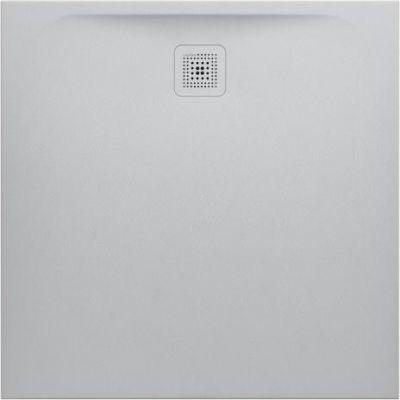 Laufen Pro brodzik kwadratowy 100 cm jasny szary H2119520770001