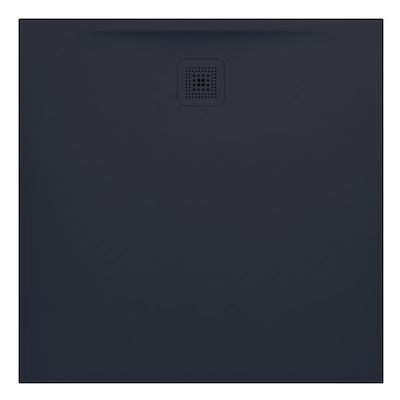 Laufen Pro brodzik kwadratowy 100 cm grafitowy H2119520780001