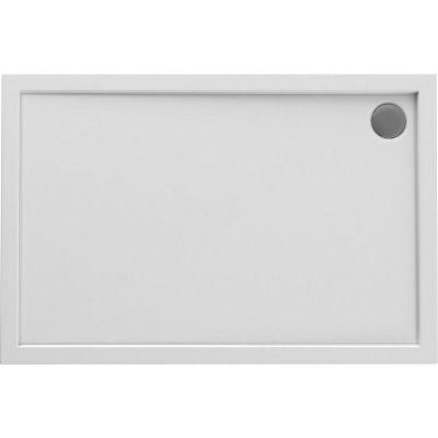 Oltens Superior brodzik prostokątny 120x80 cm akrylowy biały 15003000