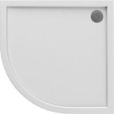 Oltens Superior brodzik półokrągły 90x90 cm akrylowy biały 16002000