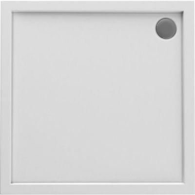 Oltens Superior brodzik kwadratowy 80x80 cm akrylowy biały 17002000