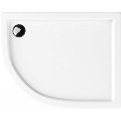 Schedpol Competia brodzik półokrągły 100x80 cm biały 3.0172/P