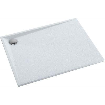 Omnires Stone brodzik prostokątny 100x90 cm biały mat STONE90/100BM