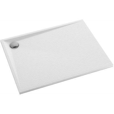 Omnires Stone brodzik prostokątny 120x90 cm biały mat STONE90/120BM