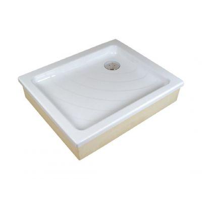 Ravak Kaskada Aneta EX brodzik prostokątny 90x75 cm biały A003701320