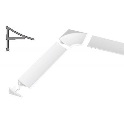 Ravak zestaw do listwy maskującej 11 biały B460000001