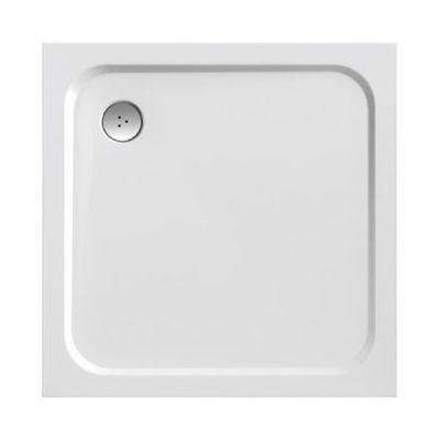 Ravak Perseus Pro Chrome brodzik kwadratowy 90 cm biały XA047701010