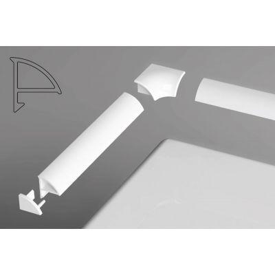 Ravak listwa maskująca 200 cm typ 6 biała XB442000001
