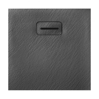 Rea Stone brodzik kwadratowy 90 cm szary REA-K5301