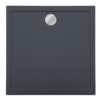 Roca Aeron brodzik kwadratowy 90 cm kompozyt Stonex szary łupek A276281200