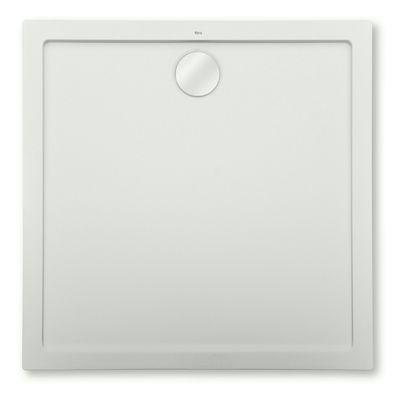 Roca Aeron brodzik kwadratowy 90x90 cm szary cement A276281300