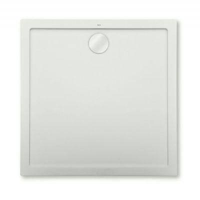 Roca Aeron brodzik kwadratowy 80 cm kompozyt Stonex szary cement A276284300