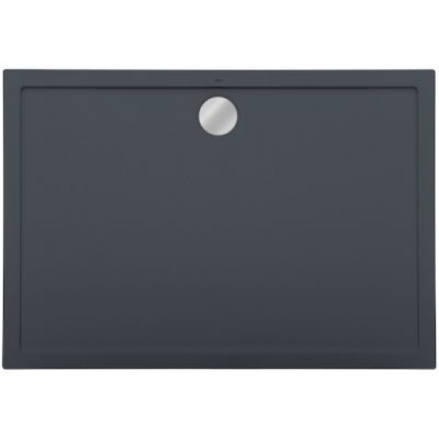 Roca Aeron brodzik prostokątny 140x80 cm kompozyt Stonex szary łupek A276286200
