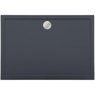 Roca Aeron brodzik prostokątny 100x90 cm kompozyt Stonex szary łupek A276294200
