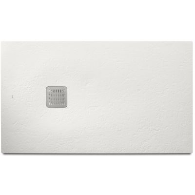Roca Terran brodzik prostokątny 100x80 cm kompozyt Stonex biały AP013E832001100