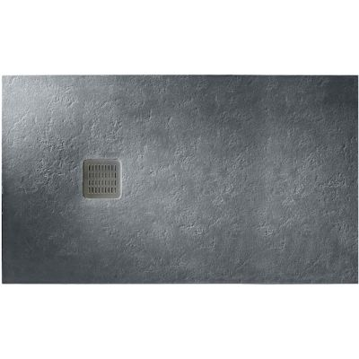 Roca Terran brodzik prostokątny 160x70 cm kompozyt Stonex szary łupek AP016402BC01200