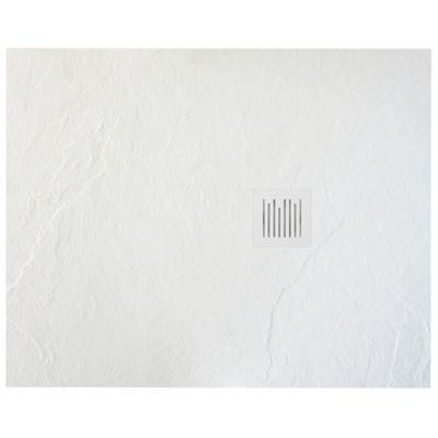 Roca Ignis brodzik prostokątny 100x80 cm kompozyt Stonex biały AP7013E832001100