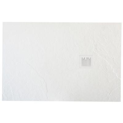 Roca Ignis brodzik prostokątny 140x90 cm kompozyt Stonex biały AP70157838401100