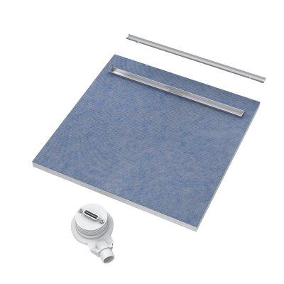 Schedpol Slim Lux odpływ liniowy 80x80 cm 10.101/OLSP
