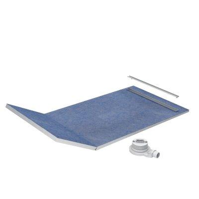 Schedpol Slim Lux odpływ liniowy 130+50x90 cm 10.113/OLSP