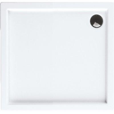 Schedpol Competia brodzik prostokątny 70x80 cm biały 3.01253