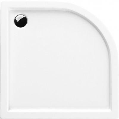 Schedpol Competia brodzik półokrągły 90 cm biały 3.0164/O