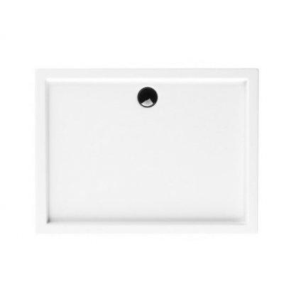 Schedpol Competia brodzik prostokątny 80x140 cm biały 3.0184