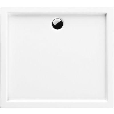 Schedpol Corrina brodzik prostokątny 80x100 cm biały 3.066/P