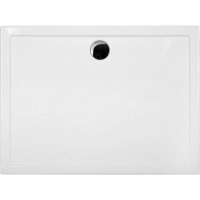 Schedpol Corrina brodzik prostokątny 90x100 cm biały 3.068/P