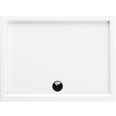 Schedpol Corrina brodzik prostokątny 80x140 cm biały 3.044