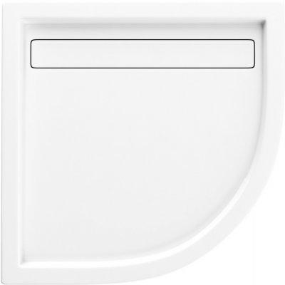 Schedpol Camparo brodzik półokrągły 90x90 cm biały 3.084