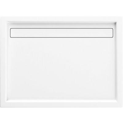 Schedpol Camparo brodzik prostokątny 80x100 cm biały 3.085