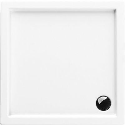Schedpol Corrina brodzik kwadratowy 80 cm biały 3.060/K