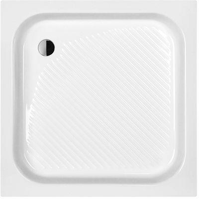 Sanplast Classic brodzik kwadratowy B/CL80x80x15+STB 615-010-0030-01-000
