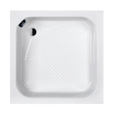 Sanplast Classic brodzik kwadratowy Bbs/CL80x80x28+STB Pro Safe System 615-010-0220-01-000