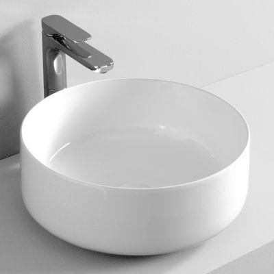 Art Ceram Cognac umywalka 42 cm nablatowa okrągła biała COL00101;00